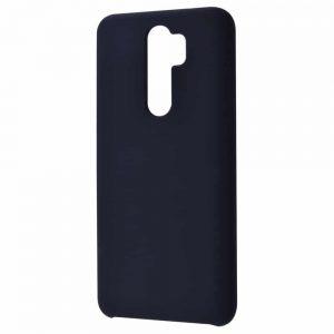 Чехол Silicone Case WAVE Full с микрофиброй для Xiaomi Redmi Note 8 Pro – Black