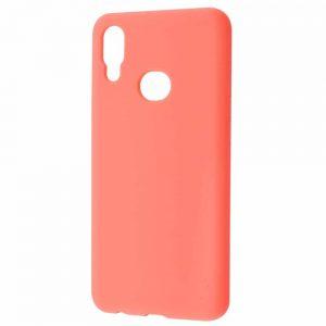 Чехол Silicone Case WAVE Full с микрофиброй для Huawei Y6 2019 – Bright pink