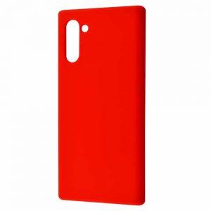 Чехол Silicone Case WAVE Full с микрофиброй для Samsung Galaxy Note 10 (N970) – Red