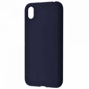 Чехол Silicone Case WAVE Full с микрофиброй для Huawei Y5 2019 – Midnight blue