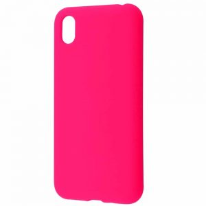 Чехол Silicone Case WAVE Full с микрофиброй для Huawei Y5 2019 – Pink