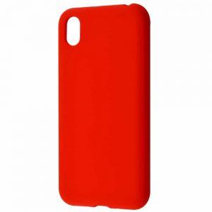 Чехол Silicone Case WAVE Full с микрофиброй для Huawei Y5 2019 – Red