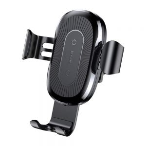 Автомобильный держатель Baseus Gravity Car Mount Wireless Charger — Black