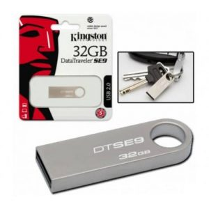 Флеш-память Kingston DT SE 9 32GB Metal – Silver