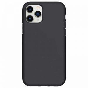 Силиконовый чехол Epic матовый soft-touch для Iphone 11 Pro — Черный