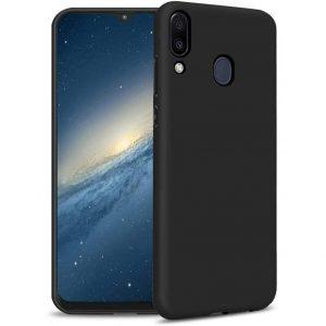 Силиконовый чехол Epic матовый soft-touch для Samsung Galaxy A10s 2019 (A107) — Черный