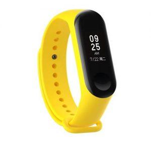Ремешок для фитнес-браслета Xiaomi Mi Band 3 / 4 – Yellow