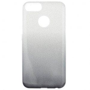 Cиликоновый (TPU) чехол Gradient Shine с блестками для Xiaomi Mi 5x / Mi A1- Черный