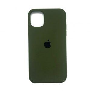 Оригинальный чехол Silicone case + HC для Iphone 11 №48 –  Army Green
