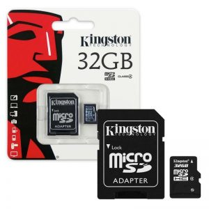 Карта памяти Kingston Micro SD 32GB Class HC-I 10 – Black