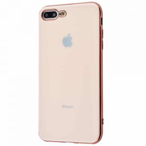 Чехол Silicone TPU Case для iPhone 7 Plus / 8 Plus – Gold