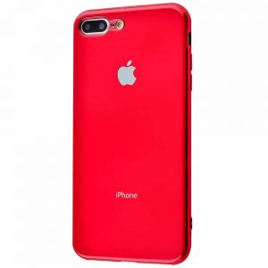 Чехол Silicone TPU Case для iPhone 7 Plus / 8 Plus – Red