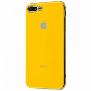 Чехол Silicone TPU Case для iPhone 7 Plus / 8 Plus – Yellow