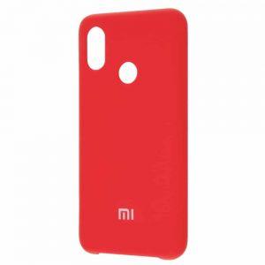 Оригинальный чехол Silicone Cover 360 с микрофиброй для Xiaomi Mi 8 SE – Red
