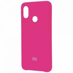 Оригинальный чехол Silicone Cover 360 с микрофиброй для Xiaomi Mi 8 SE – Pink