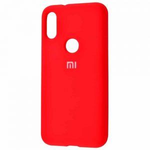 Оригинальный чехол Silicone Cover 360 с микрофиброй для Xiaomi Mi Play – Red