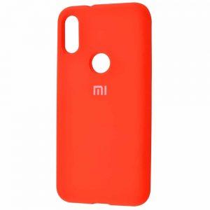 Оригинальный чехол Silicone Cover 360 с микрофиброй для Xiaomi Mi Play – Orange