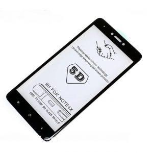 Защитное стекло 5D Premium Full Glue на весь экран для Xiaomi Redmi Note 4x – Black