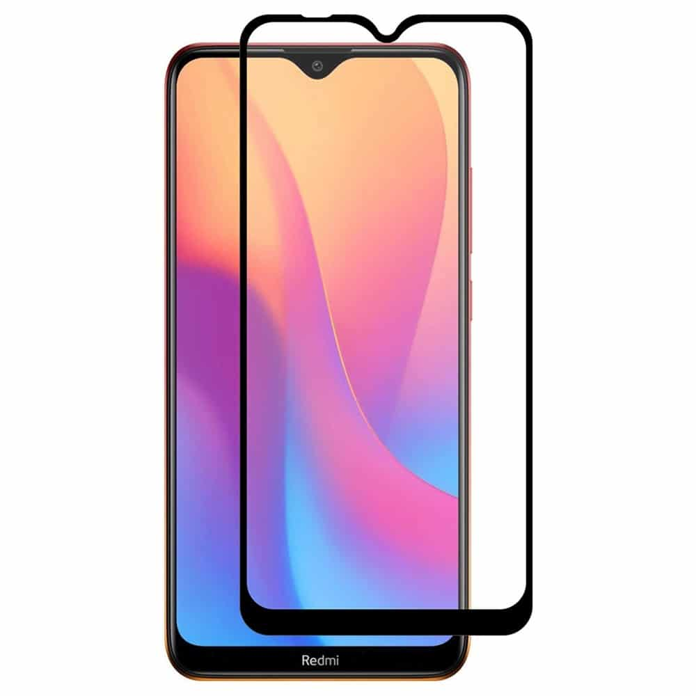 Защитное стекло 3D (5D) Full Glue Armor Glass на весь экран для Xiaomi Redmi 8 / 8A – Black