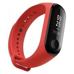 Ремешок для фитнес-браслета Xiaomi Mi Band 3 / 4 – Red