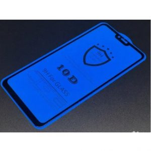 Защитное стекло 10D Full Glue Cover Glass на весь экран для Xiaomi Redmi 6 Pro / Mi A2 Lite — Black