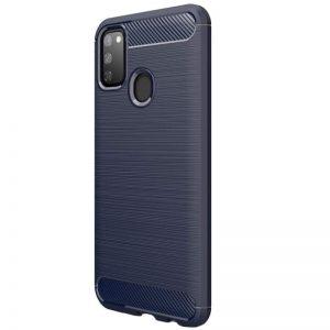 Cиликоновый TPU чехол Slim Series для Samsung Galaxy M30s (M307F) – Синий