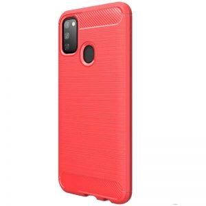 Cиликоновый TPU чехол Slim Series для Samsung Galaxy M30s (M307F) – Красный