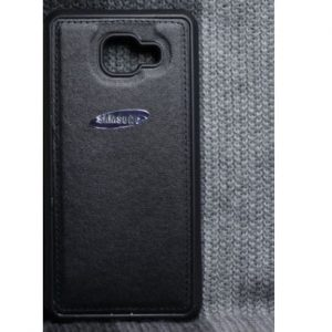 TPU+Leather чехол с кожаной вставкой для Samsung Galaxy A5 2016 (A510) – Black