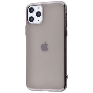 Прозрачный силиконовый TPU чехол для Iphone 11 Pro Max – Серый