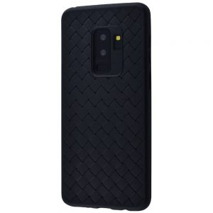 Силиконовый (TPU) чехол Weaving Case  для Samsung Galaxy S9 Plus (G965) – Черный