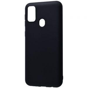 Матовый силиконовый TPU чехол для Samsung Galaxy M30s / M21 – Черный