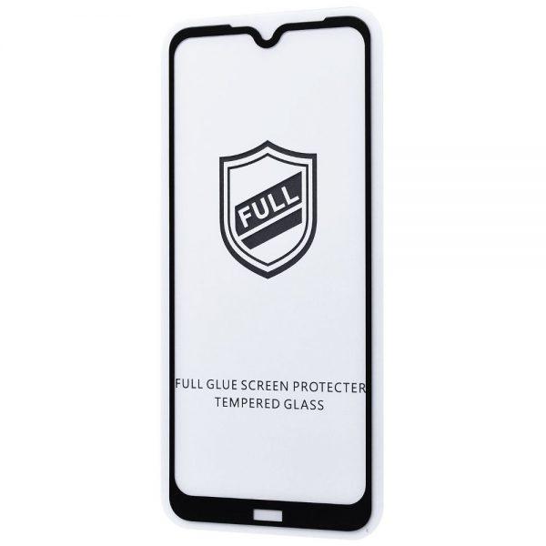Защитное стекло 3D (5D) Perfect Glass Full Glue на весь экран для Xiaomi Redmi Note 8T – Black