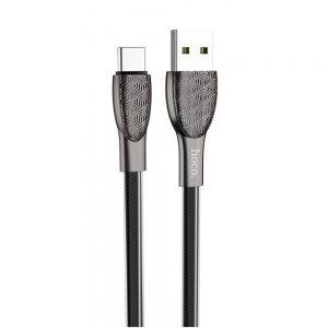 Кабель Hoco U52 Bright USB to Type-C 2.4A (1.2м) – Black