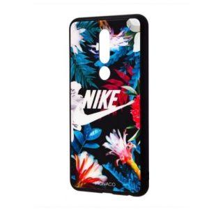 TPU+Glass чехол Monaco Case с рисунком для Meizu M8 – Nike
