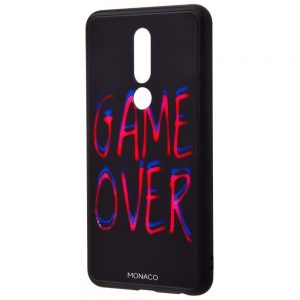 TPU+Glass чехол Monaco Case с рисунком для Meizu M8 – Game over