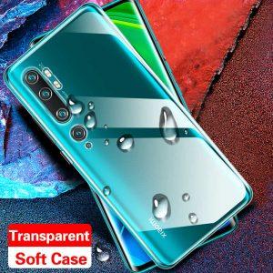 Прозрачный силиконовый TPU чехол для Xiaomi Mi Note 10 / Xiaomi Mi Note 10 Pro – Clear