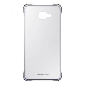 PC чехол Samsung S View Cover для Samsung Galaxy A7 2016 (A710) – Серебряный / Прозрачный