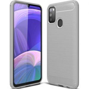 Cиликоновый TPU чехол Slim Series для Samsung Galaxy M30s (M307F) – Серый