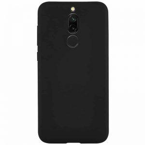 Матовый силиконовый (TPU) чехол для Xiaomi Redmi 8 / 8A – Черный