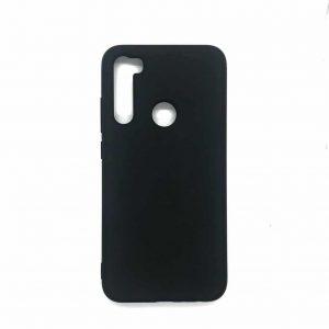 Матовый силиконовый TPU чехол для Xiaomi Redmi Note 8T – Черный