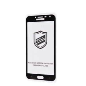 Защитное стекло 3D (5D) Perfect Glass Full Glue на весь экран для Samsung Galaxy J4 2018 (J400) – Black