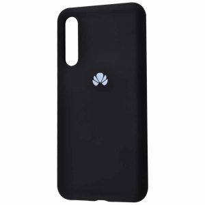 Оригинальный чехол Silicone Cover 360 с микрофиброй для Huawei P20 Pro – Black