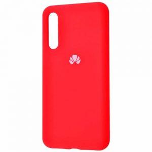 Оригинальный чехол Silicone Cover 360 с микрофиброй для Huawei P20 Pro – Red