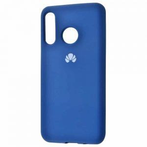 Оригинальный чехол Silicone Cover 360 с микрофиброй для Huawei P30 Lite – Blue