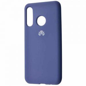 Оригинальный чехол Silicone Cover 360 с микрофиброй для Huawei P30 Lite – Lavender gray
