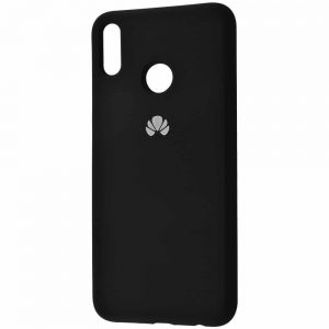 Оригинальный чехол Silicone Cover 360 с микрофиброй для Huawei Honor 8x – Black