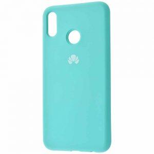 Оригинальный чехол Silicone Cover 360 с микрофиброй для Huawei Honor 8x – Turquoise
