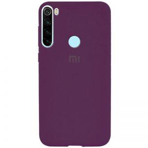 Оригинальный чехол Silicone Cover 360 с микрофиброй для Xiaomi Redmi Note 8T – Фиолетовый / Grape