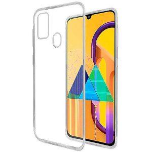 Прозрачный силиконовый (TPU) чехол для Samsung Galaxy M30s / M21
