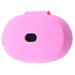 Чехол для наушников Silicone Case + карабин для Xiaomi AirDots – Pink